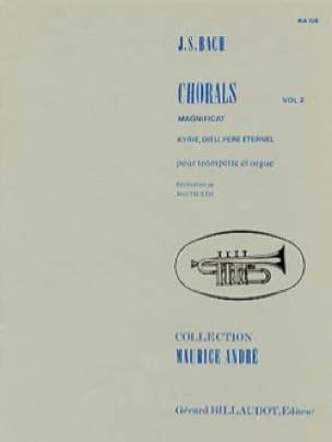 Chorals Volume 2 - BACH - Partition - Trompette - laflutedepan.com