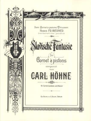 Carl Höhne - Slavische Fantaisie - Partition - di-arezzo.fr