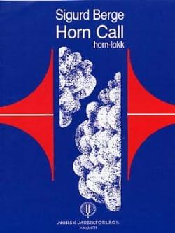 Horn Call Sigurd Berge Partition Cor - laflutedepan
