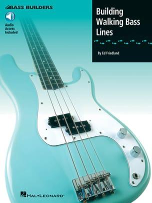 Building Walking Bass Lines Ed Friedland Partition laflutedepan