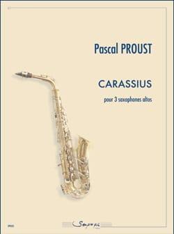 Carassius Pascal Proust Partition Saxophone - laflutedepan