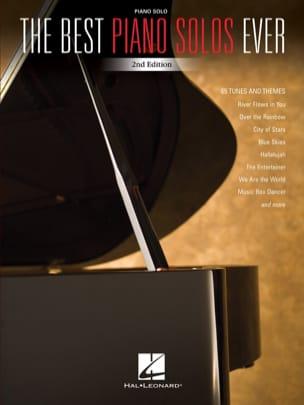The Best Piano Solos Ever Partition Pop / Rock - laflutedepan