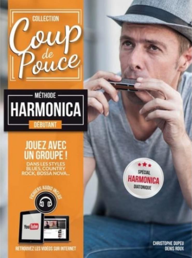 Méthode Harmonica Débutant - COUP DE POUCE - laflutedepan.com