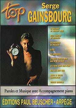 Top Serge Gainsbourg Serge Gainsbourg Partition laflutedepan