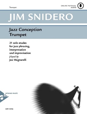Jim Snidero - Jazz design - 21 solo studies - Partition - di-arezzo.co.uk