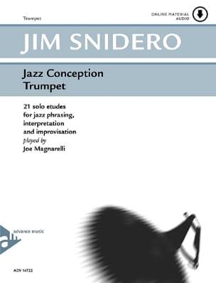 Jazz Conception - 21 Solo Etudes Jim Snidero Partition laflutedepan