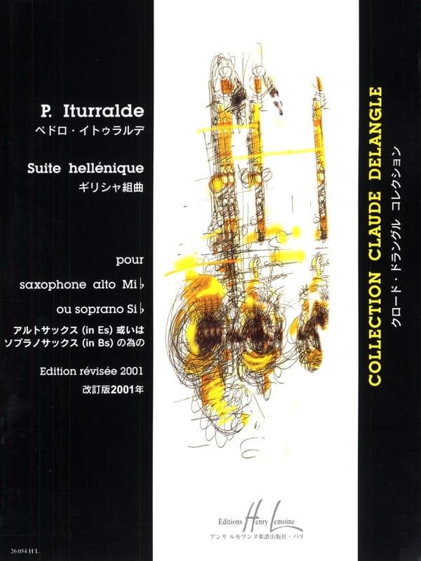 Suite Hellénique - Pedro Iturralde - Partition - laflutedepan.com