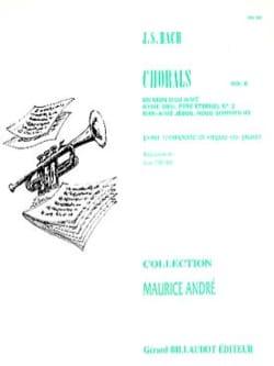 Chorals Volume 6 BACH Partition Trompette - laflutedepan