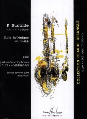 Suite Hellénique Pedro Iturralde Partition Saxophone - laflutedepan
