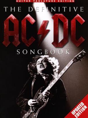 The Definitive AC/DC Songbook AC-DC Partition laflutedepan