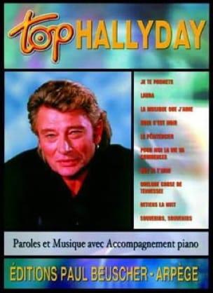 Top Hallyday - Johnny Hallyday - Partition - laflutedepan.com
