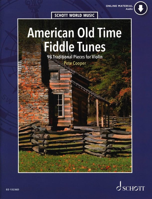 American Old Time Fiddle Tunes - Partition - laflutedepan.com