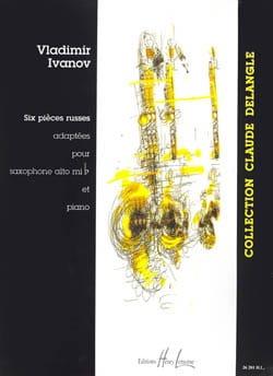 Six Pièces Russes Volume 1 Vladimir Ivanov Partition laflutedepan