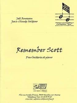 Remember Scott... Rousseau Joel / Soldano Jean-Claude laflutedepan
