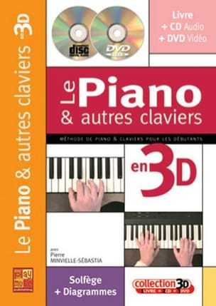 Pierre Minvielle-Sebastia - The piano and other keyboards in 3D - Partition - di-arezzo.co.uk