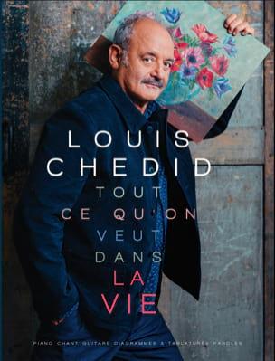 Tout ce qu'on veut dans la vie Louis Chedid Partition laflutedepan