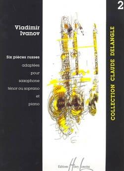Six Pièces Russes Volume 2 Vladimir Ivanov Partition laflutedepan