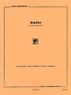 Suite Paul Bonneau Partition Trompette - laflutedepan