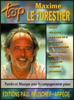 Maxime Le Forestier - Top Maxime il Forestier - Partition - di-arezzo.it