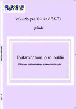 Toutankhamon le Roi Oublié Christophe Guichard Partition laflutedepan