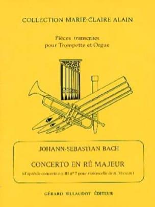 Concerto En Ré Majeur - BACH - Partition - laflutedepan.com