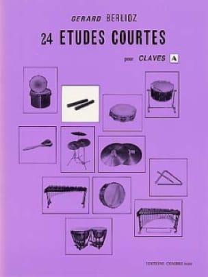 24 Etudes Courtes Volume A - BERLIOZ - Partition - laflutedepan.com