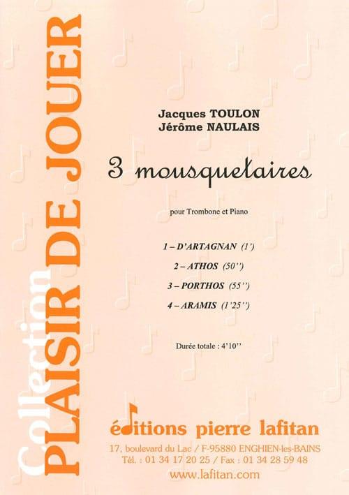 Trois Mousquetaires - Toulon J. / Naulais J. - laflutedepan.com