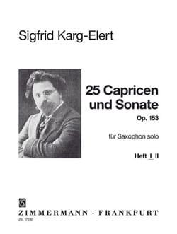 25 Capricen & Sonate Opus 153 - Volume 1 laflutedepan