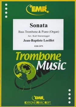 Sonate En Do Majeur LOEILLET Partition Tuba - laflutedepan