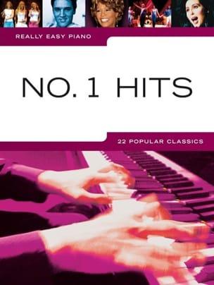 Really easy piano - N° 1 hits Partition Pop / Rock - laflutedepan