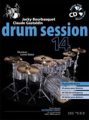 Drum session 14 Jacky Bourbasquet & Claude Gastaldin laflutedepan