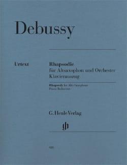 DEBUSSY - Rhapsody - Urtex - Partition - di-arezzo.co.uk