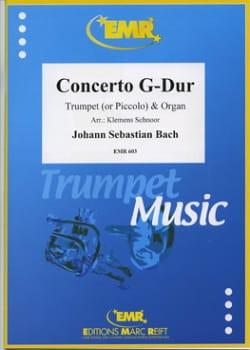 Concerto en Sol Majeur - BWV 592 - BACH - Partition - laflutedepan.com