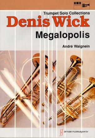 Megalopolis André Waignein Partition Trompette - laflutedepan