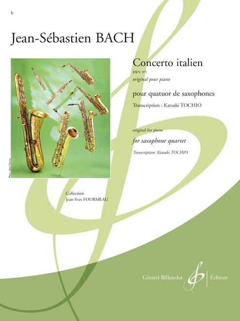 Concerto Italien BWV 971 - BACH - Partition - laflutedepan.com