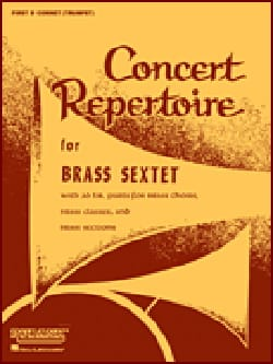 Concert Repertoire For Brass Sextet - Conducteur laflutedepan