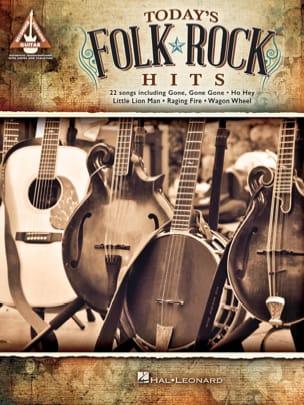 Today's Folk Rock Hits Partition Pop / Rock - laflutedepan