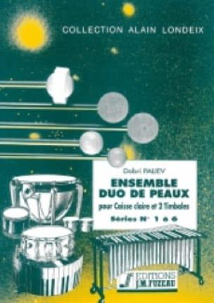 Ensemble Duo de Peaux Séries 01 A 06 - Dobri Paliev - laflutedepan.com
