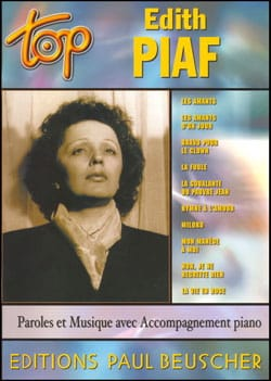 Edith Piaf - Edith Piaf Top - Partition - di-arezzo.co.uk