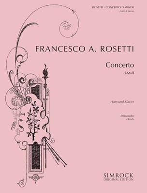 Concerto en D Minor Francesco Antonio Rosetti Partition laflutedepan