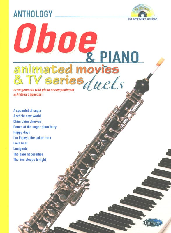 Animated movies & TV series - duets - Partition - laflutedepan.com