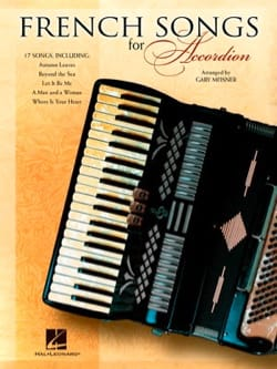 French Songs for Accordion Partition Accordéon - laflutedepan