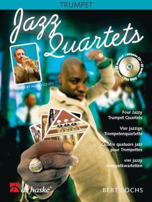 Jazz quartets - Bert Lochs - Partition - Trompette - laflutedepan.com