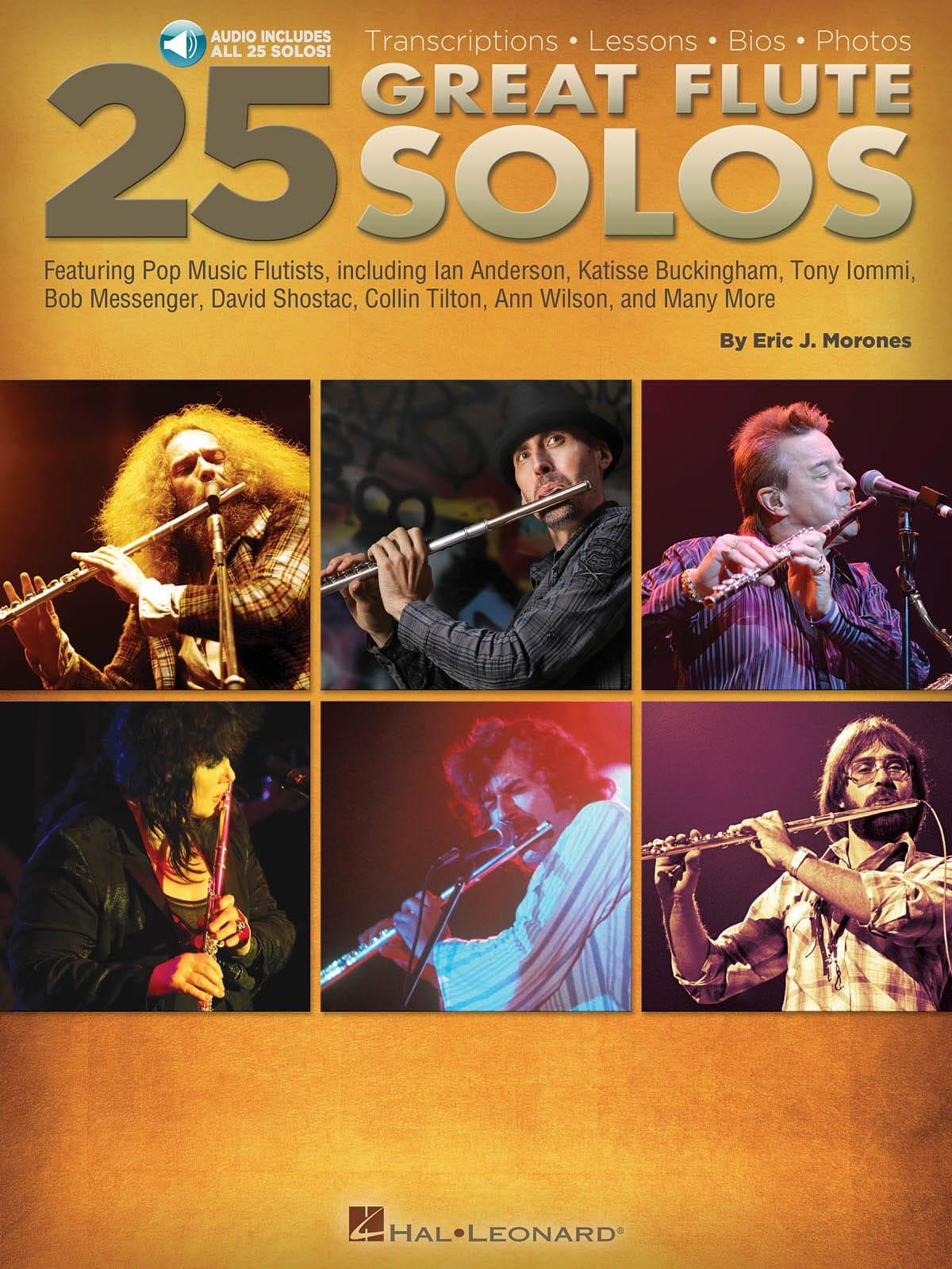 25 Great Flute Solos - Partition - laflutedepan.com