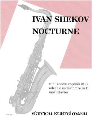 Nocturne - Ivan Shekov - Partition - Saxophone - laflutedepan.com