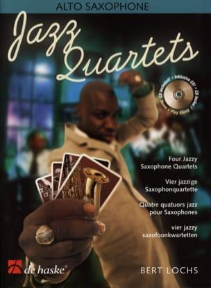 Jazz Quartets Bert Lochs Partition Saxophone - laflutedepan