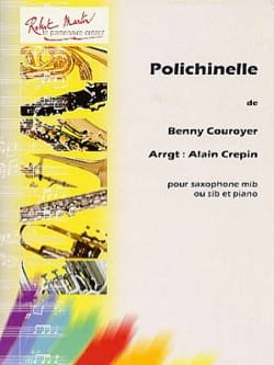 Polichinelle Benny Couroyer Partition Saxophone - laflutedepan