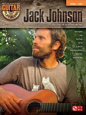 Guitar Play-Along Volume 181 - Jack Johnson Jack Johnson laflutedepan