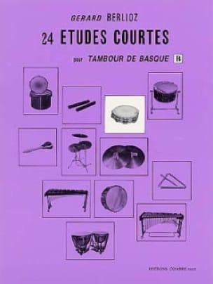 24 Etudes Courtes Volume B - BERLIOZ - Partition - laflutedepan.com