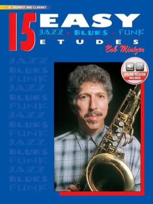 Bob Mintzer - 15 Easy Jazz, Blues, Funk Etudes - Partition - di-arezzo.fr